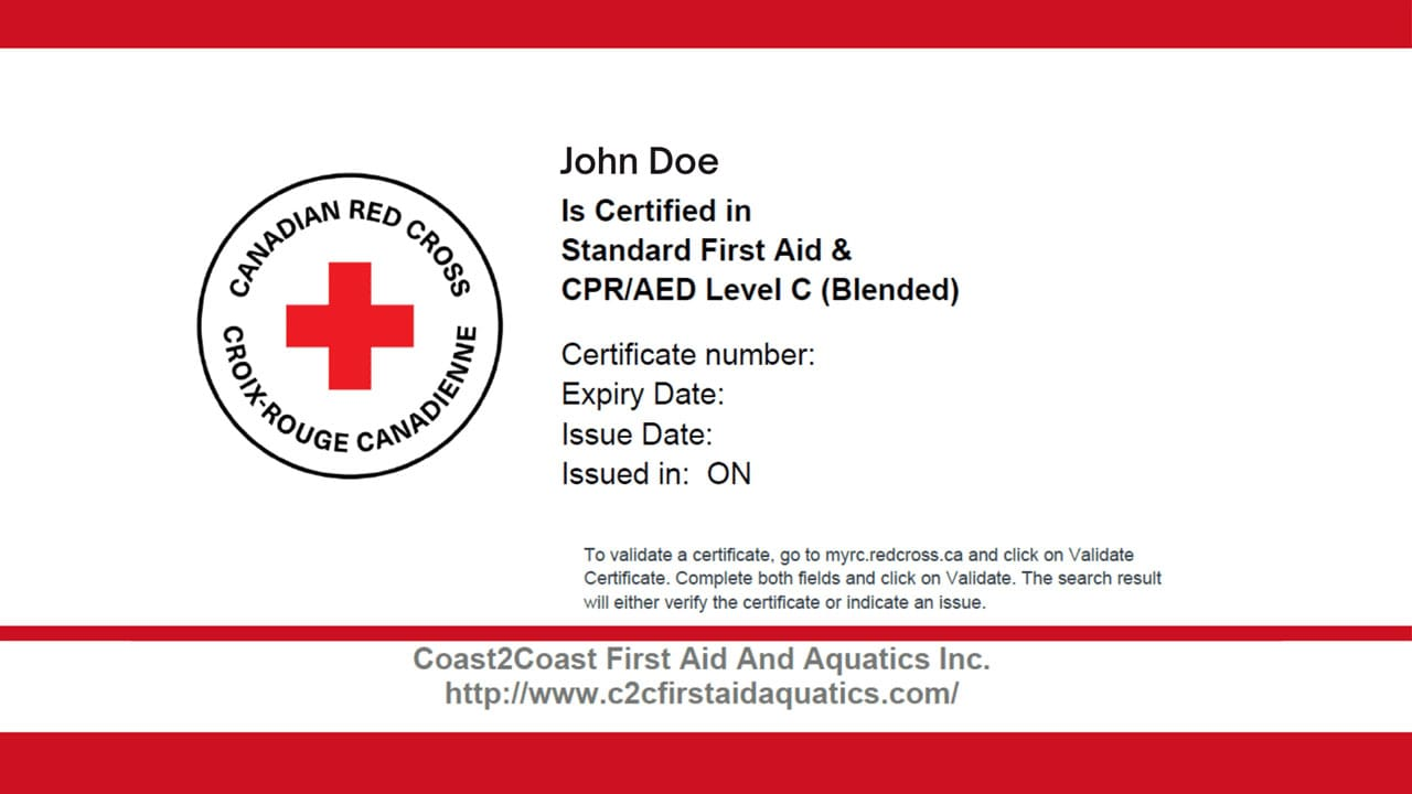 What to do if You Lost your First Aid & CPR Certificate? Pertaining To Cpr Card Template